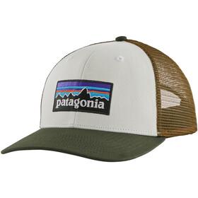 Patagonia P-6 Logo Kasket, hvid